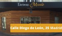 Tienda de tarimas en Madrid - c/ Diego de León
