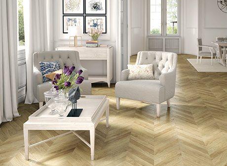 Instalacion tarimas de madera salon
