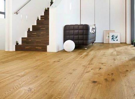 Instalacion de tarimas de madera escalera