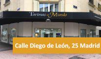 Tienda de tarimas en Madrid - Calle Diego de León 25
