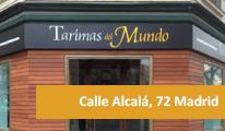 Tienda de tarimas en Madrid - Calle Alcalá 72