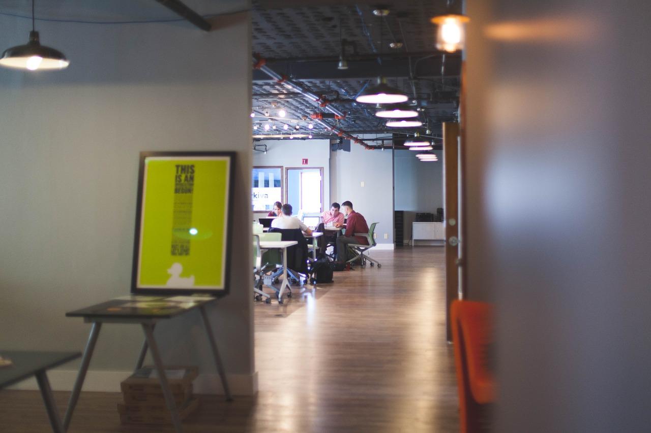 Suelos de vinilo para espacios de trabajo