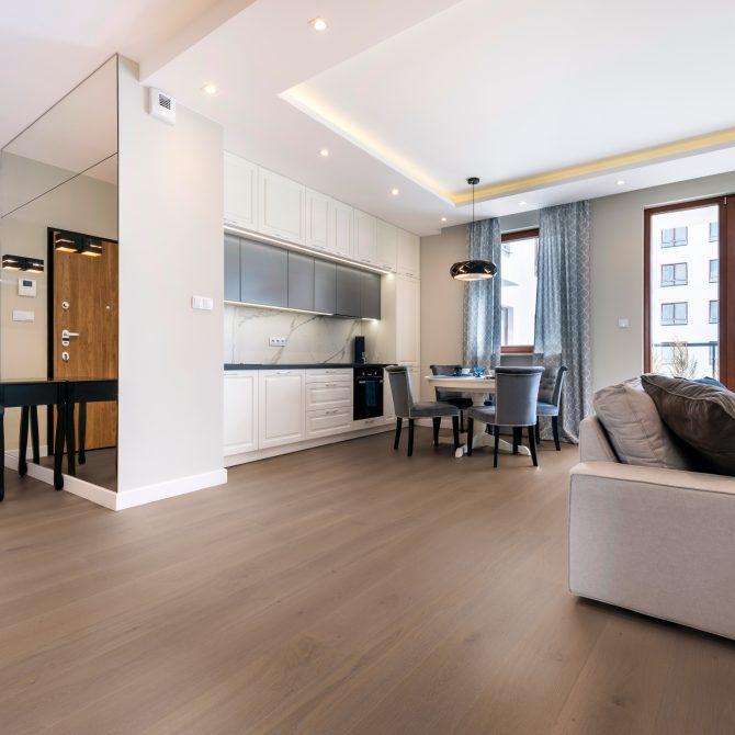 OAK MOONDUST Floor Art - Ambiente